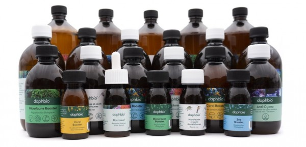 All daphbio products for your seawater aquarium