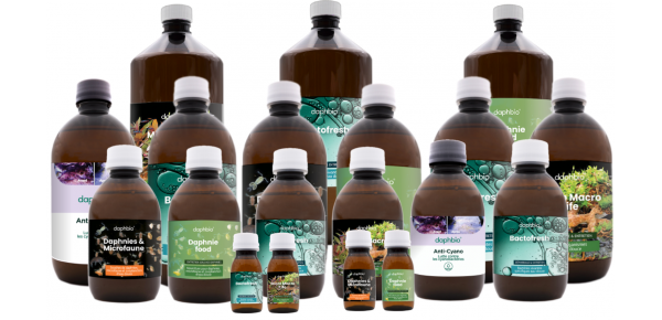 All daphbio products for your freshwater aquarium