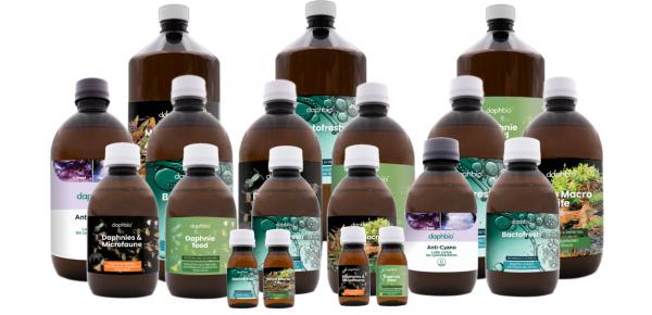 Alle daphbio-producten voor zoetwateraquariums